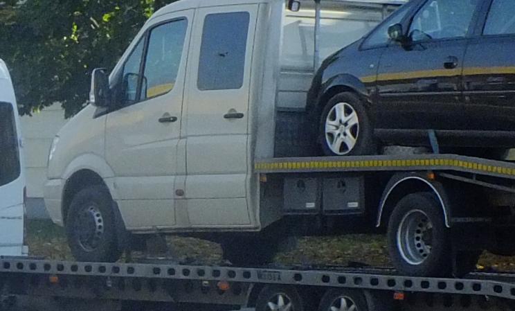 3,5 tonna helyett 9 tonna – Túlsúlyos járműszerelvénnyel közlekedett a moldáv férfi