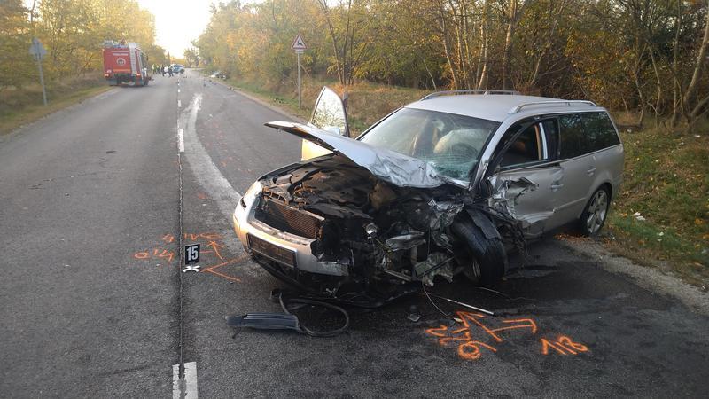 Fotók – Halálos baleset történt reggel az 51-es főúton