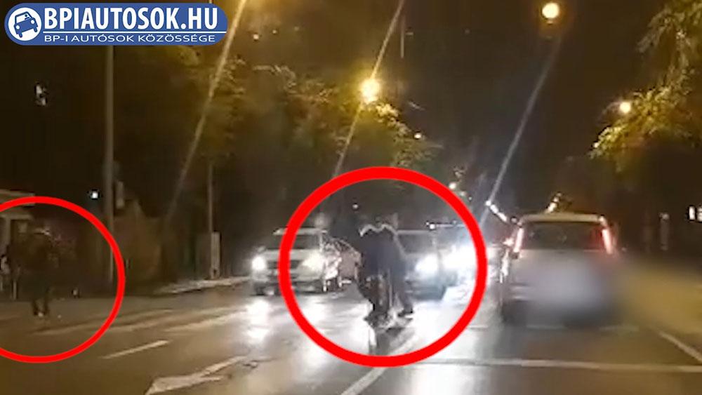 Respekt: Az autósok és két segítő járókelő is remekül vizsgázott a gyalogátkelőn