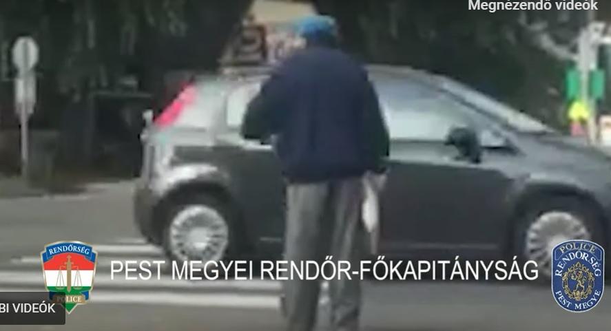 VIDEÓ: Azonnali eltiltás, mert nem adta meg az elsőbbséget