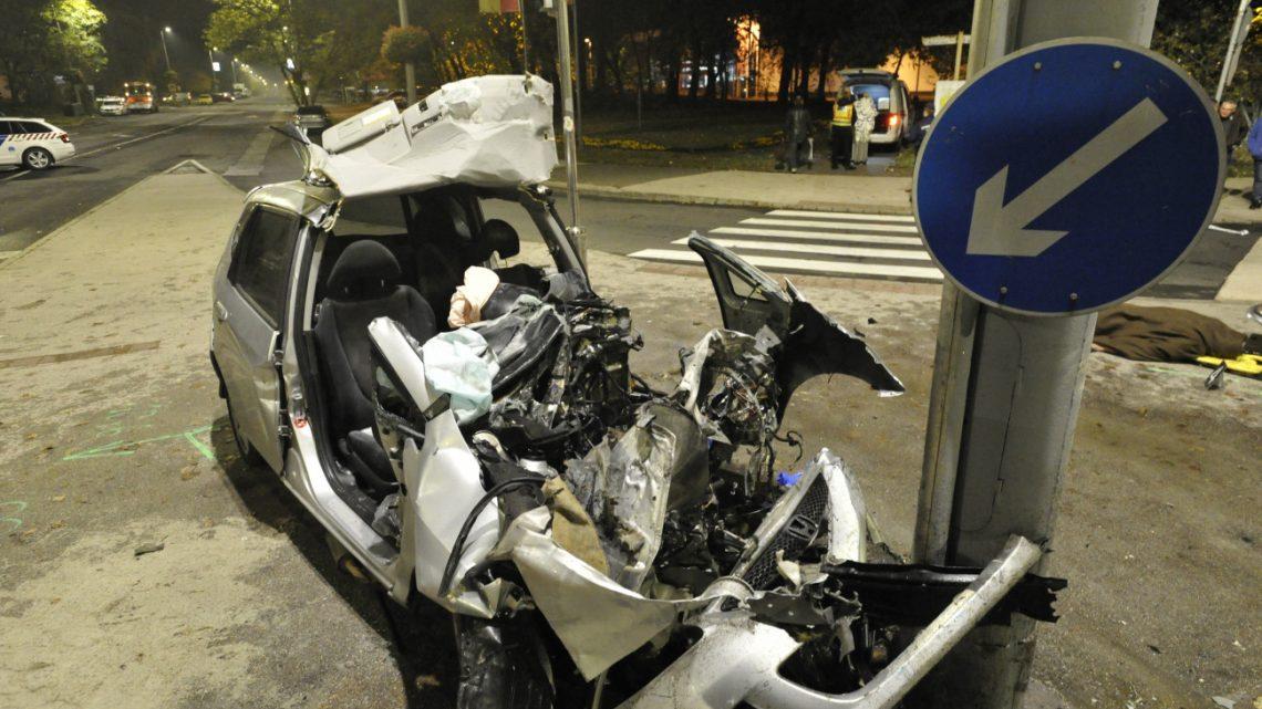 Videó – Szívszorító fotók a hajnali budapesti halálos balesetről
