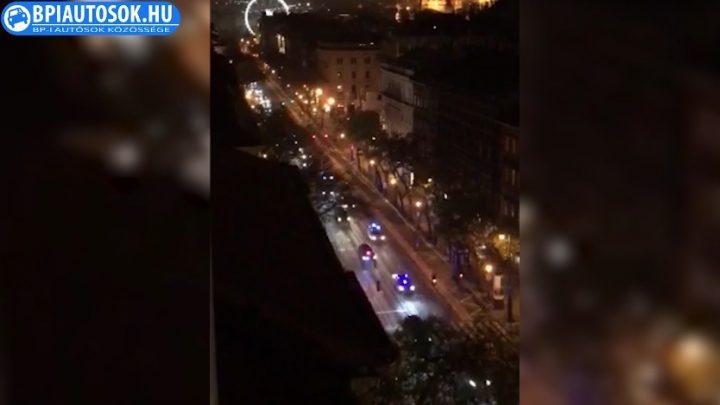 VIDEÓ: Elképesztő konvojjal indult haza Erdogan