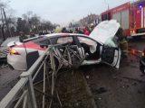 VIDEÓK: Próbaúton pusztított az Audival. 15 autó sérült meg