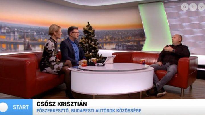 Káoszt okozott az első havazás a budapesti közlekedésben
