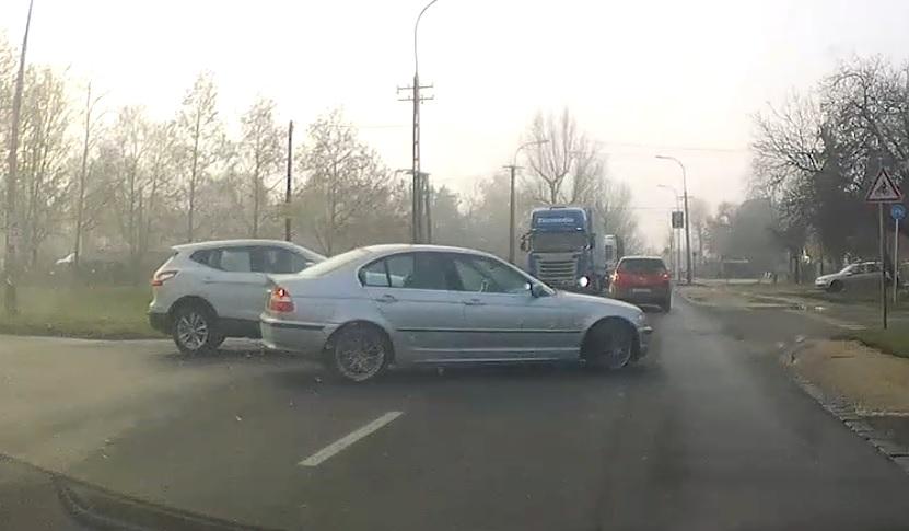 VIDEÓ: Hatalmas védés Csepelen. A BMW-s mire gondolhatott…