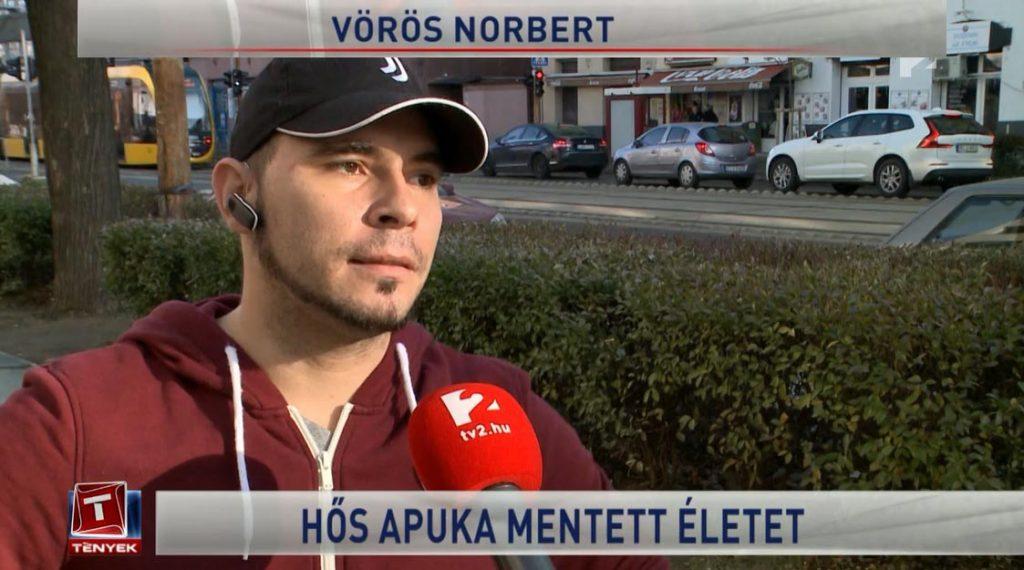 VIDEÓ: Olvasónk, az M2-es hőse nyilatkozott a TV2-nek