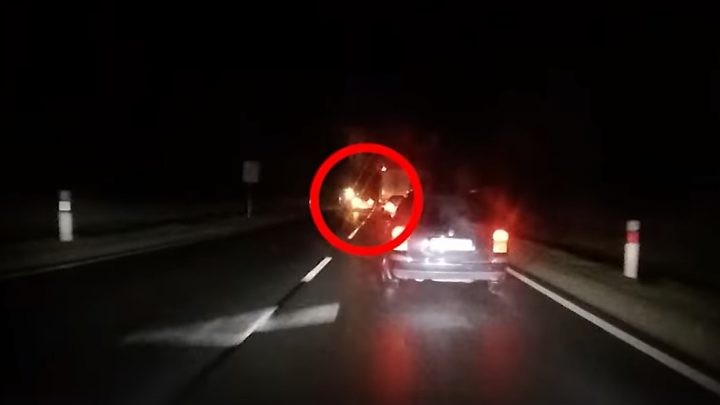 """Itt a friss, 4. rendőrségi civil autós, """"tahó vadászó"""" videó"""