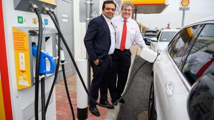 Hosszabb út megtétele elektromos autókkal – A Shell gyorstöltő állomásokat telepít Magyarországon