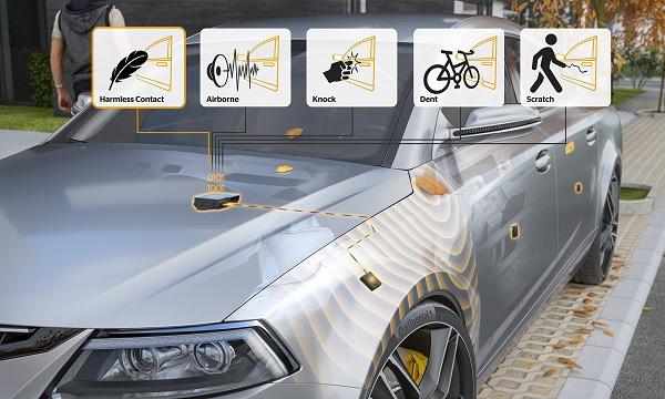 A jövő autója figyeli, ha megkarcolják, vagy nekikoccannak a parkolóban