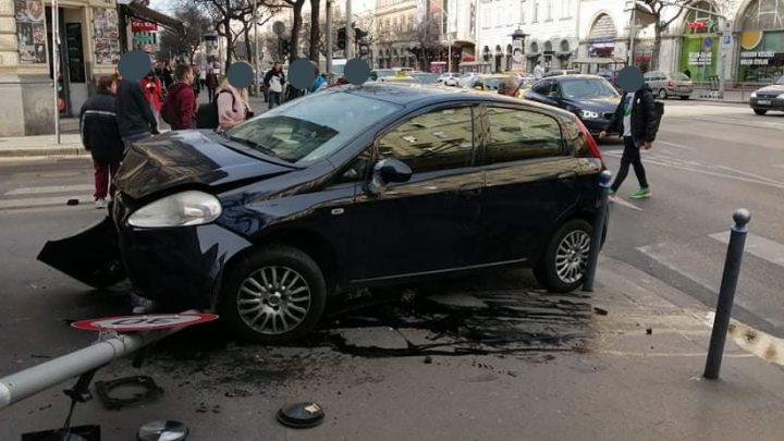 Fotók: Ennyit tudunk a mai, Wesselényi utcánál történt balesetről