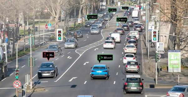 Már Németországban is kommunikálnak az Audik a közlekedési lámpákkal