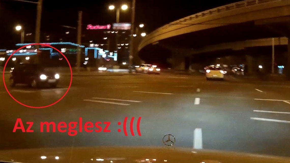 VIDEÓ: Ezt a balesetet így látta a fedélzeti kamera a Flórián térnél