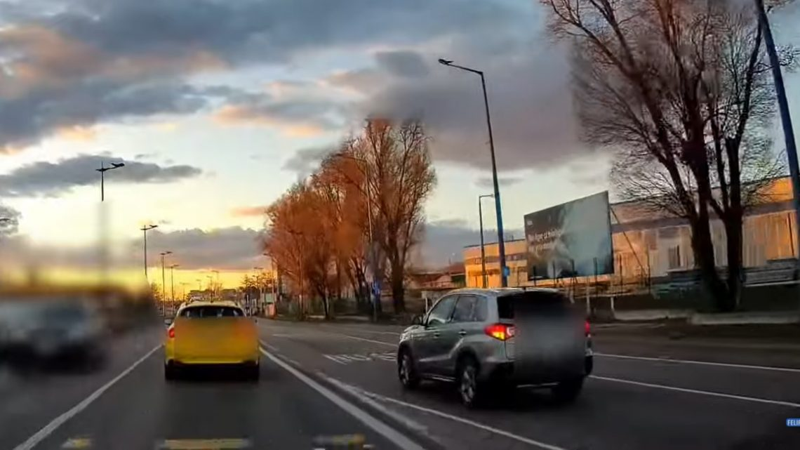 VIDEÓ: Itt rendszeres a szabálytalan felszökés a Ferihegyi Repülőtérre vezető útra