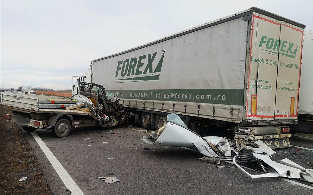 Fontos dologra hívja fel a figyelmet a kisteherautó múlt heti sérültje