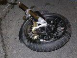 FOTÓK: Meghalt egy motoros pénteken az M5-ösön, miután nekiütközött egy pályafenntartó autónak