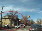 VIDEÓ: Ilyen amikor az udvarias gyalogos, a szabályos autós és egy bunkó bringás egyszerre találkozik