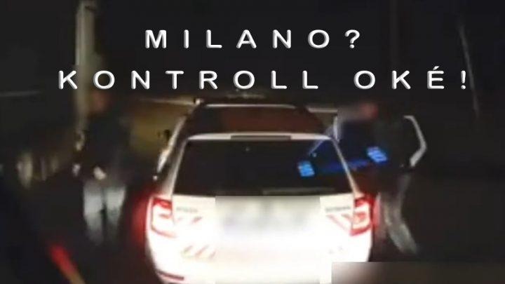 """VIDEÓ: """"Italia? Észak? Milano?? Te…Gabi!!!… Kontroll oké! Ciao…"""""""