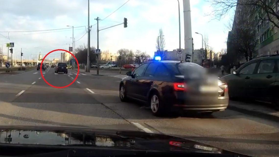 VIDEÓ: Pofátlan(tan)ító akcióban a Vörösvári úton