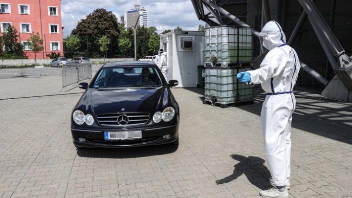 Budapesten elindult az autós koronavírus-tesztelés