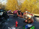 FOTÓK: Halálos kimenetelű baleset történt tegnap a 6-os számú főúton