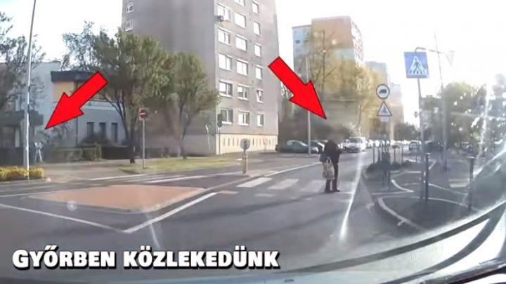VIDEÓ: Gyalogos zombik mindenütt – Megállt a zebrán a mobilját bámulni
