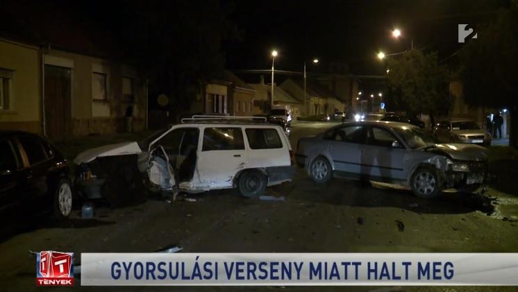VIDEÓ: Tragédia lett egy illegális gyorsulási verseny vége – A vétlen autós halt meg