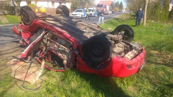 FOTÓK: Autó és traktor ütközött Galgagután – Egy ember életét vesztette
