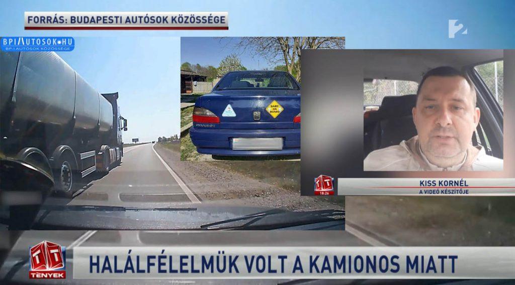 RIPORT: A sofőr ellen eljárás indult, valamint információink szerint elbocsájtották munkahelyéről