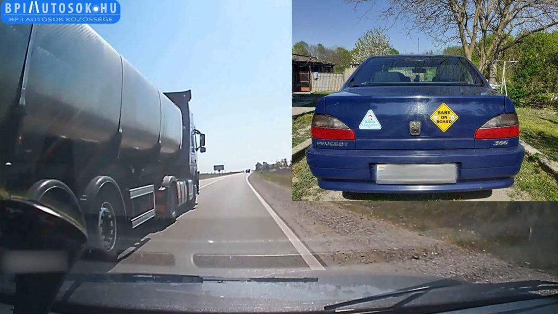 Egy év után büntetővégzés született az olvasónkat letoló kamionos ellen, közúti veszélyeztetés bűntette miatt