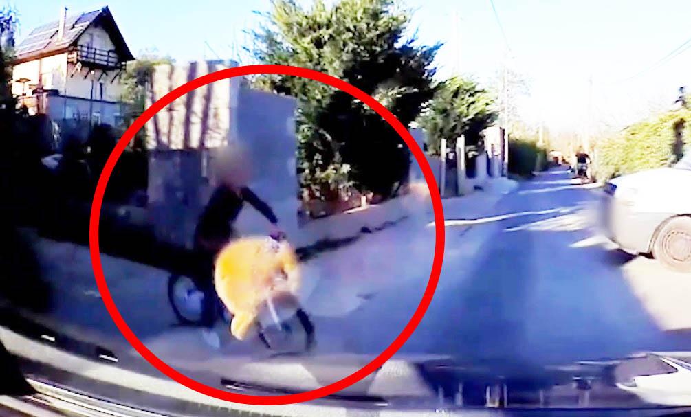 VIDEÓ: Olvasónk vétlenként elütött egy kislányt. Tanulságos felvétel!