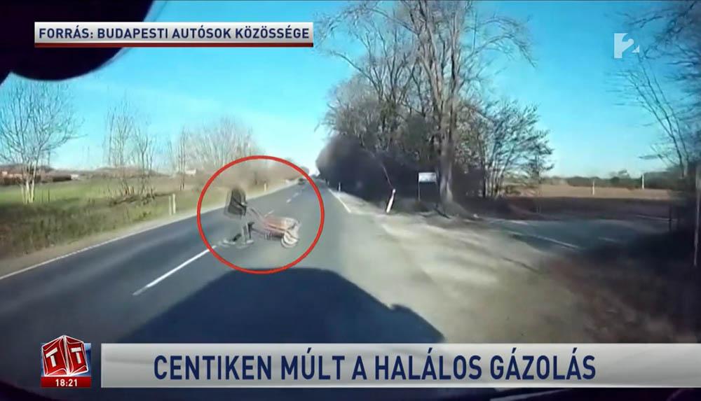 RIPORT: A szakértő elsősorban a talicskát toló férfit, de az autóst is hibáztatja a kialakult helyzet miatt
