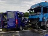 VIDEÓ: Öt ember vesztette életét reggel egy balesetben a 710-es elkerülőn, Balatonkenesénél