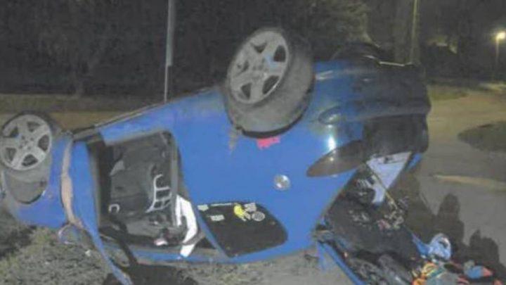 Egy elbaltázott kézifékes fordulással ölte meg utasát a részeg sofőr