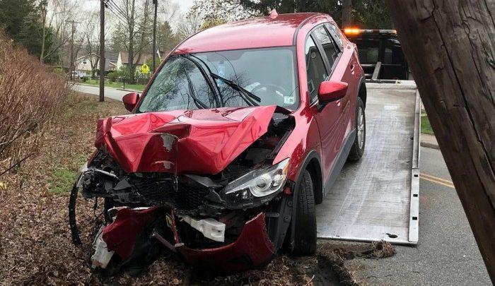 Maszkban vezetett, oxigénhiány miatt baleset történt