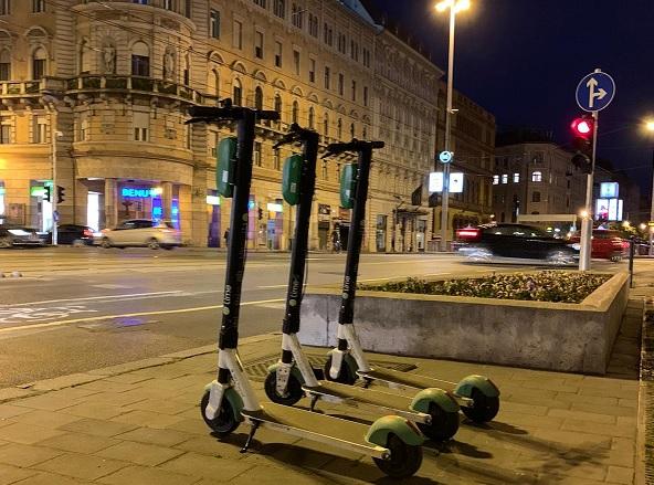FOTÓK: A Lime rollerei újra visszatértek Budapestre