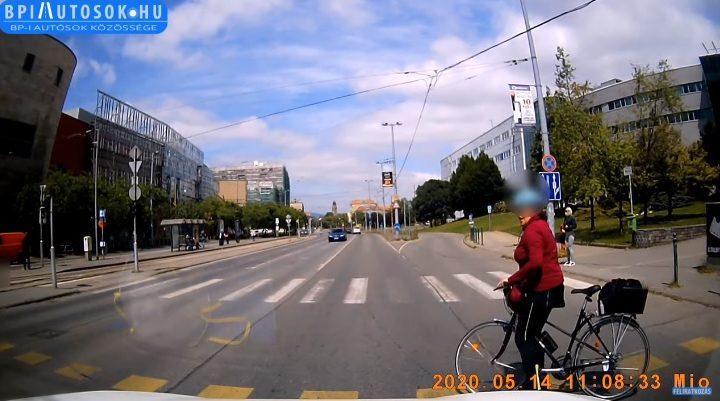 VIDEÓ: Bringasávot mindenhova! – Nem rossz ötlet, de az nem fogja megvédeni az ilyen bicikliseket