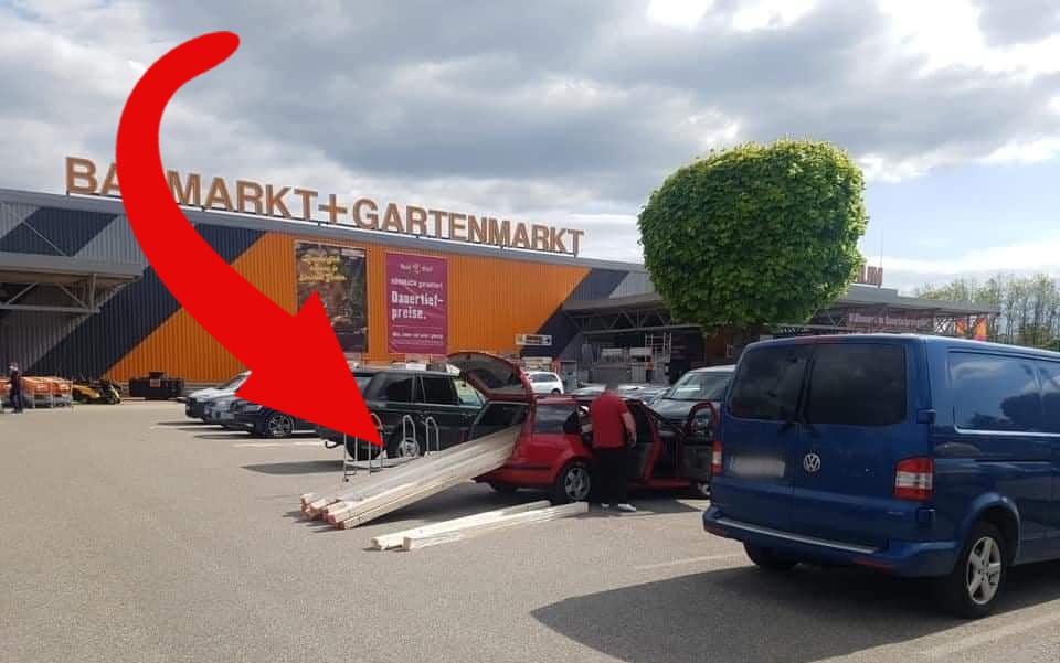 VIDEÓ: Komolyan gondolta az osztrák sofőr, hogy elviszi. Lekapcsolták!