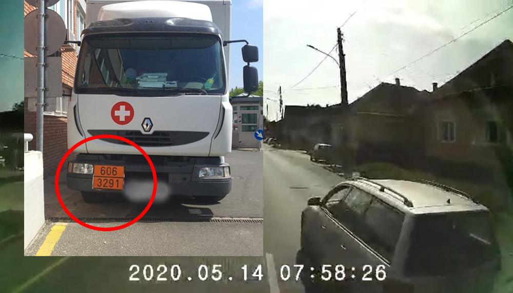 VIDEÓ: Veszélyes hulladékokat szállító olvasónkat leckéztette meg nem mindennapi módokon az autós