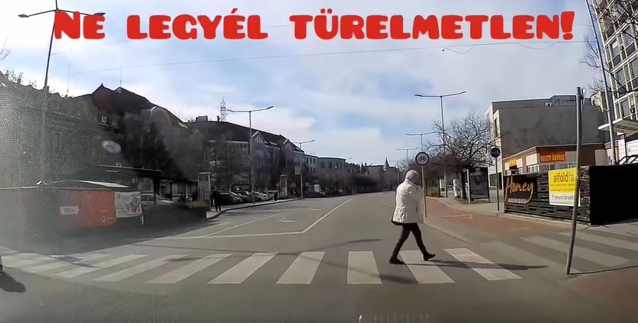 VIDEÓ: Az igazi lúzer, aki megelőzte gyalogátkelőn a pofátlan(tan)ítót