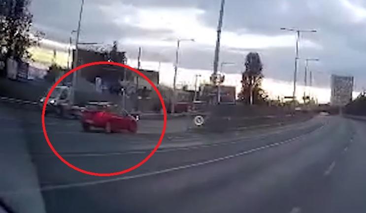 VIDEÓ: Az M3 bevezetőn hajtott szembe a forgalommal ma reggel