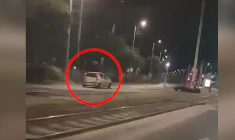 VIDEÓ: Így hajtott éjjel szembe a forgalommal a Könyves Kálmán körúton. Üldözték, elkapták