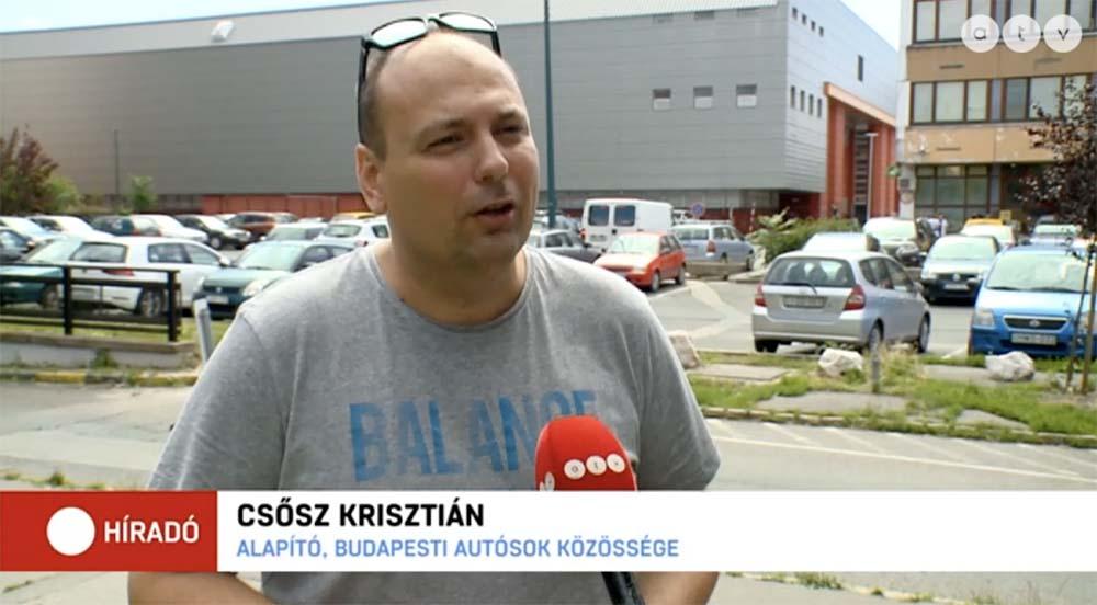 Riport: Akár 800 forintba is kerülhet egy óra parkolás, erről beszélt Erzsébetváros polgármestere