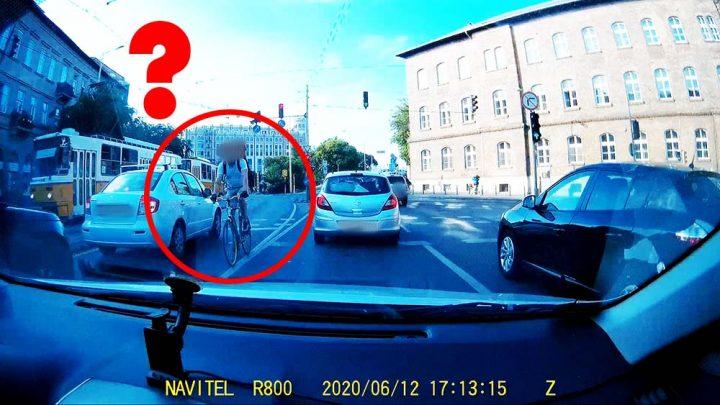 VIDEÓ: Bemutatjuk a biciklis futárok Chuck Norrisát