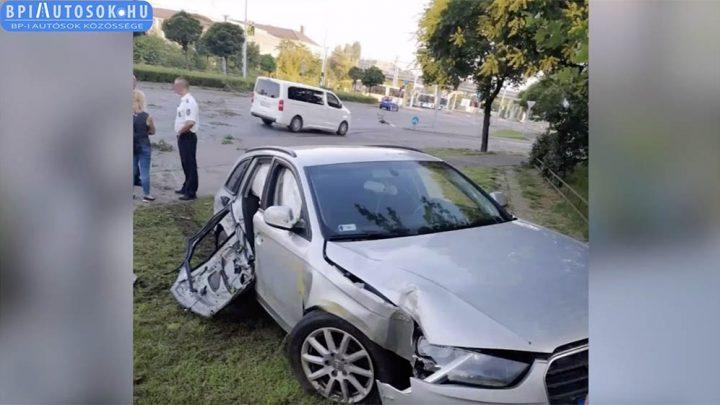 """VIDEÓ – Leszakadt mellette az ajtó: """"Összerakom a két kezem, hogy nem estem ki az autóból"""""""