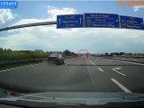 VIDEÓ: Döbbenetes, amit az M7-esen művelt tegnap ez a sofőr