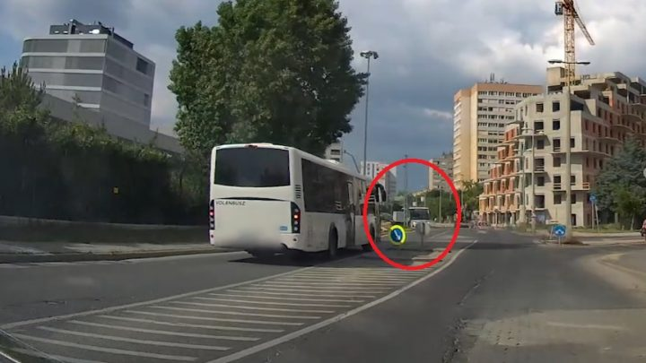 VIDEÓ: Olyat előzött a Volánnal az ember, hogy a pofánk leszakad