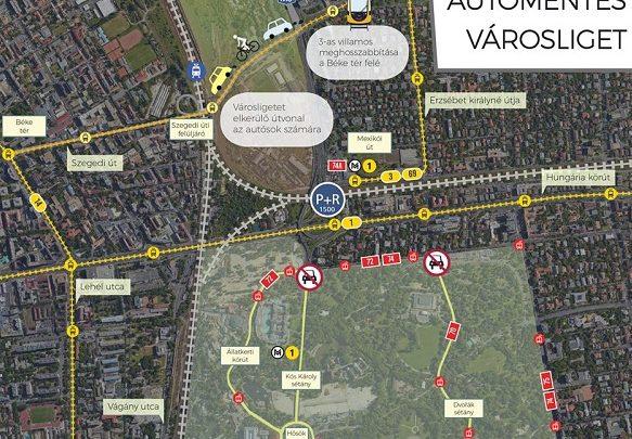 Döntött a kormány: Kitiltják az autókat a Városligetből és a Kós Károly sétányról