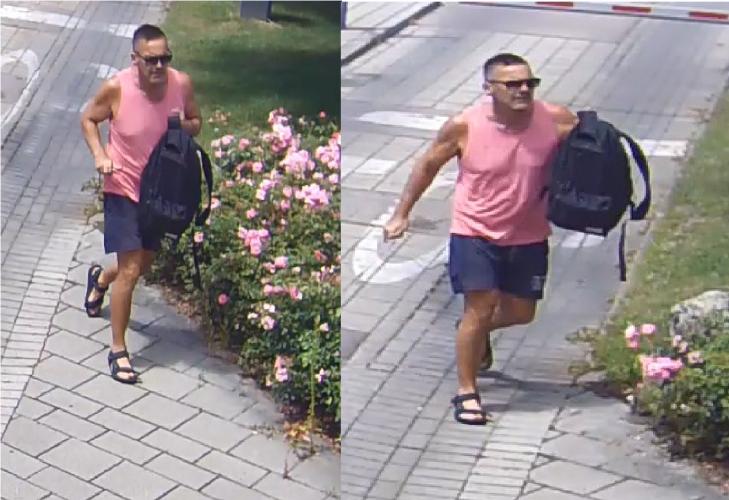 A fotón szereplő férfit keresi az óbudai rendőrség – Parkoló autót rugdosott