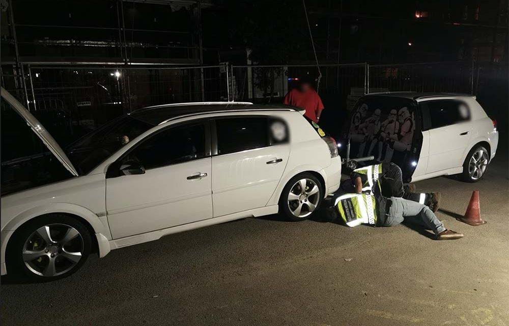 Gyorshajtók, rendőrnek meg nem állók és ez (kép) volt a fogás