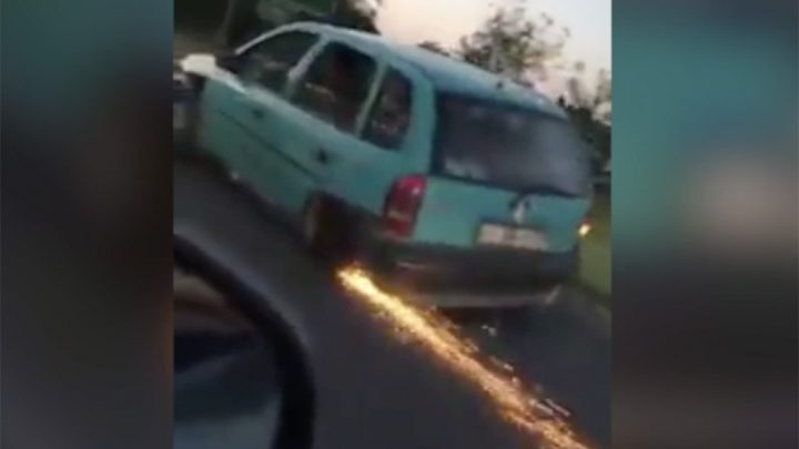 VIDEÓ: Volt baj Mátészalkán a műszaki állapottal